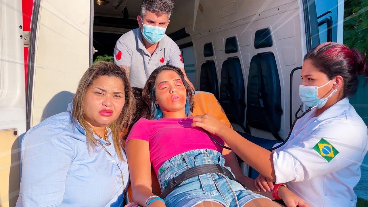 Download TIVE UMA REAÇÃO ALÉRGICA E FUI SOCORRIDA DE AMBULÂNCIA !!!