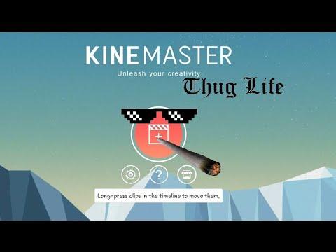 طريقة عمل thug life قصف جبهة باستخدام برنامج كين ماستر للهاتف