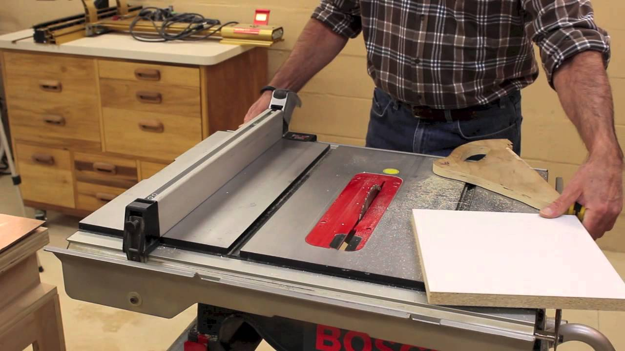 The Down To Earth Woodworker Miter Saw Table Saw Accuracy Check