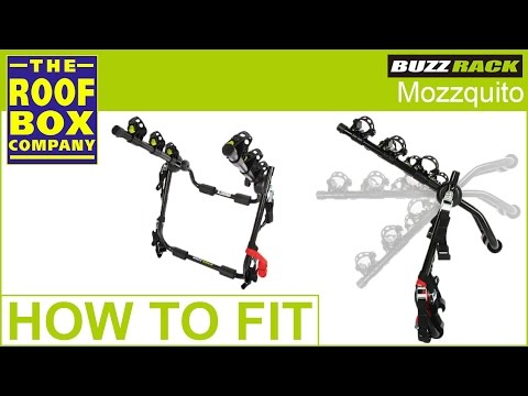 BUZZ RACK MOZZQUITO - Rear mounted bicycle carrier - YouTube fd8829463953