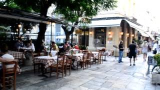 アキーラさん散策⑦ギリシャ・アテネ・旧市街プラカ地区,Plaka,Athens,Greece