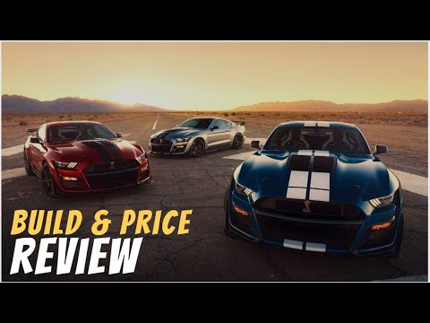 2020 Ford Mustang Shelby GT500 - Build & Price Review: Features, Gallery, Colors, Packages, Options