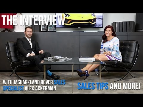 An Interview with Alek Ackerman Jaguar & Land Rover Specialist + Selling Tips & More!
