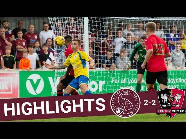 Extended Highlights: Taunton Town 2-2 Exeter City