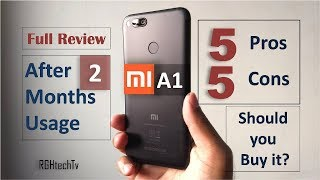 Mi A1 Full Review After 2 Months Usage | Gaming, Camera, Battery, Pros and Cons