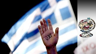 On The Streets Of The Greek Financial Crisis