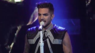 Adam Lambert TOHT Sydney #1 (30 Jan 2016) - EVIL IN THE NIGHT, FOR YOUR ENTERTAINMENT Resimi
