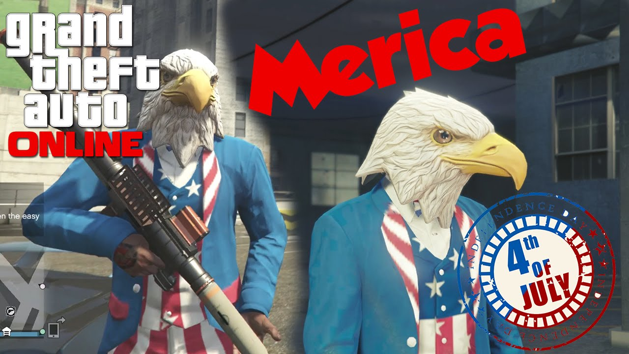 gta 5 online happy merica day outfits masks races and vip hunt