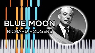 Blue Moon – Jazz Piano Solo tutorial