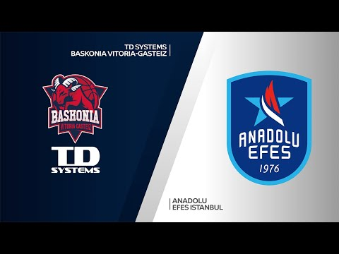 TD Systems Baskonia Vitoria-Gasteiz - Anadolu Efes Istanbul Highlights | EuroLeague, RS Round 33
