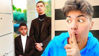 El Hijo de CRISTIANO RONALDO quiere venir a la EPIC HOUSE...