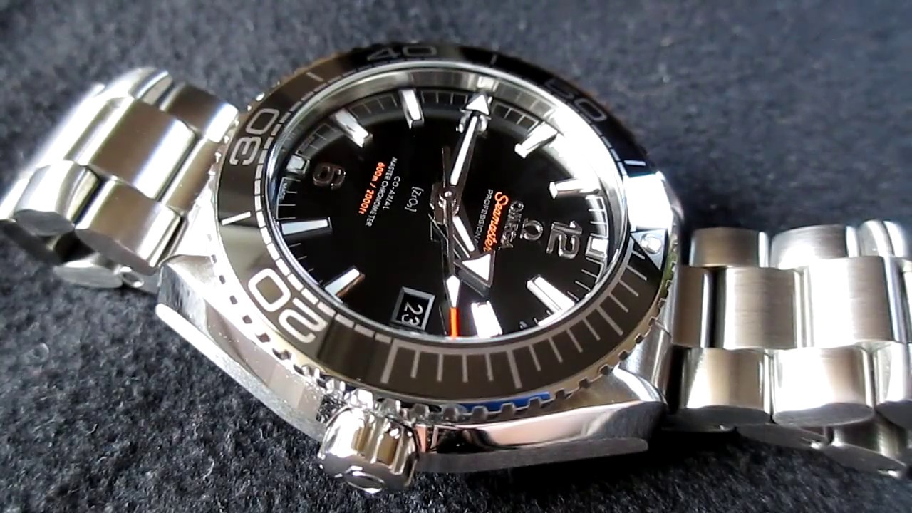 40117a427191f Omega Seamaster Planet Ocean 600 M Co-Axial Master Chronometer 43 ...