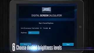 Top 10 Features of the Digital Screen Calculator from Harkness Screens