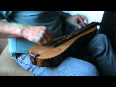 Pancho and Lefty on mountain dulcimer