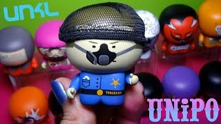 """Collectible art figures representing bands such as Tomahawk, Melvins, Fantômas, Peeping Tom, and more! These figures were released in 2008. """"Ipecac ..."""