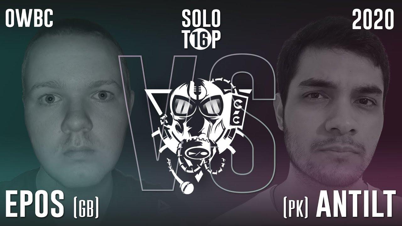 ANTILT VS EPOS | Online World Beatbox Championship Solo Battle | 1/8 FINAL