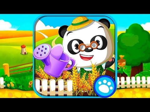 Развивающий мультфильм для детей Dr. Panda Огород - обзор игры