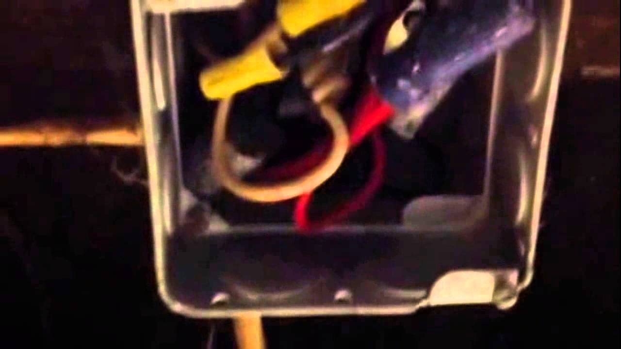 How to electrical junction box to full - YouTube