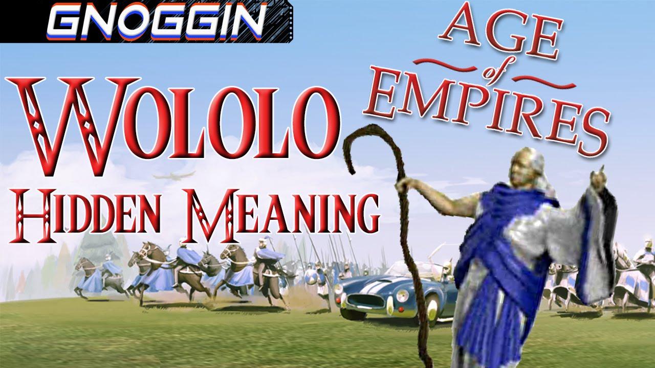 Download The Origins of Wololo  |  Gnoggin