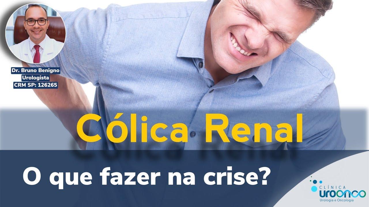 Cólica Renal. O que fazer para aliviar a dor?