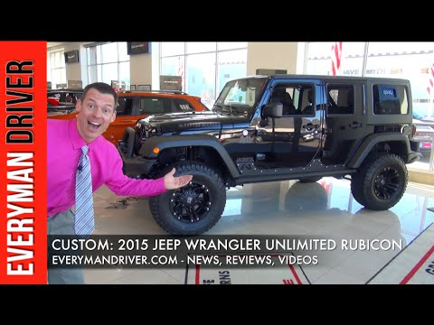 $85,000 Jeep Wrangler Unlimited Rubicon 4x4 on Everyman Driver