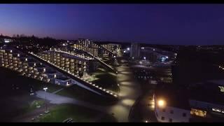 Dronefilm Fra De Nye Hotellbyggene Ved Oslofjord Convention Center Oktober 2019