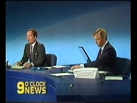 BBC Nine O'Clock News - Piper Alpha (7th July 1988) - part one