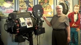 Antique Movie Projector Demonstration by Sam Lamb