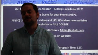 IELTS Live Class – Speaking – Online Course Session 21