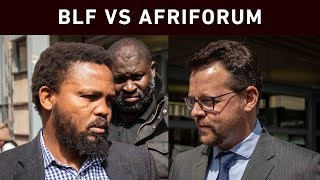 BLF leader Andile Mngxitama appeared in the Equality Court for a hate speech case brought against him by AfriForum.