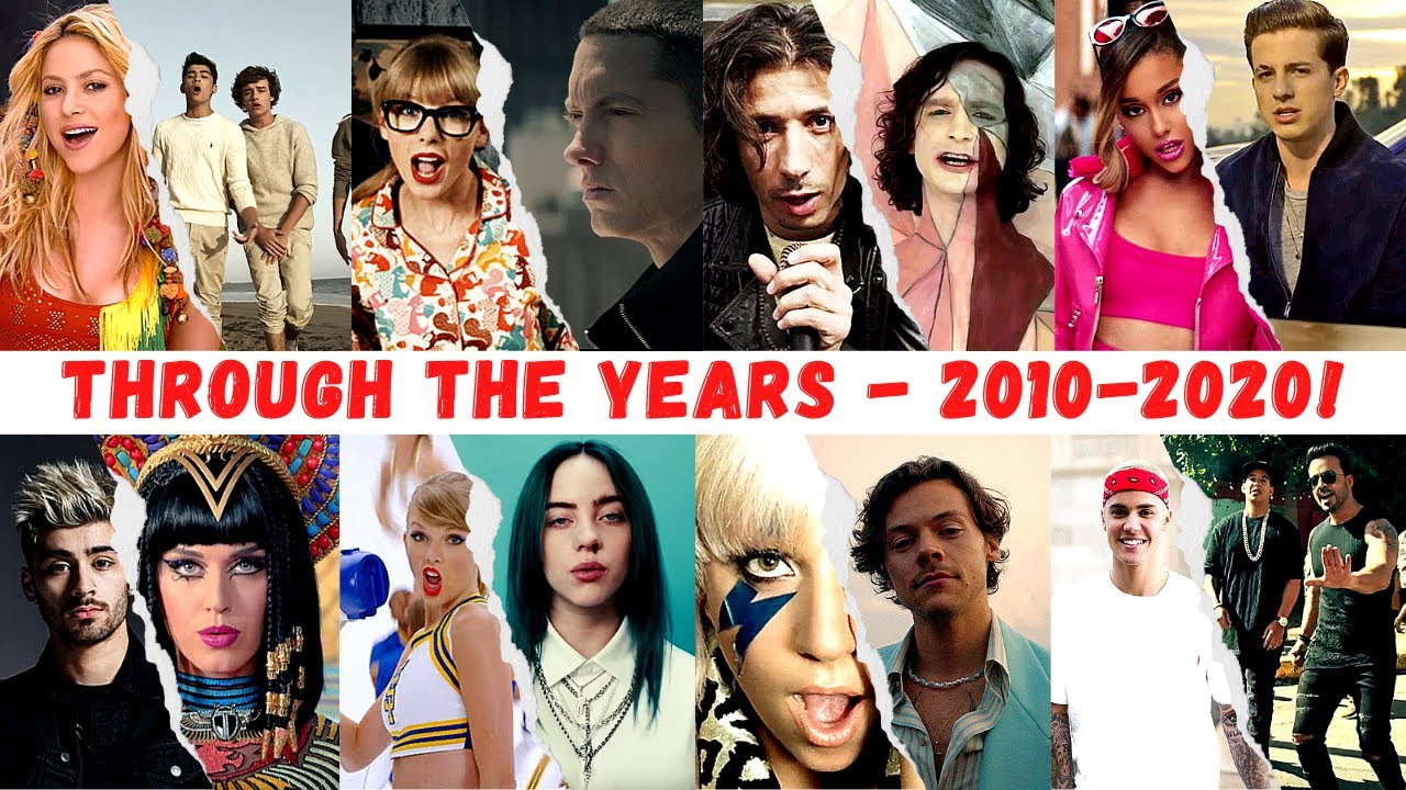 Download Hit Songs Through The Years - 2010-2020!