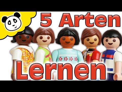 Playmobil Schule - 5 ARTEN LERNEN - Playmobil Film