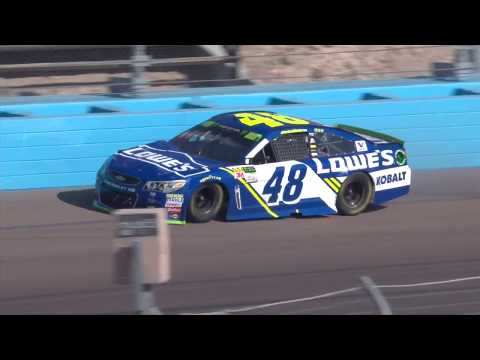 Johnson's chance at eighth championship comes to end after wreck