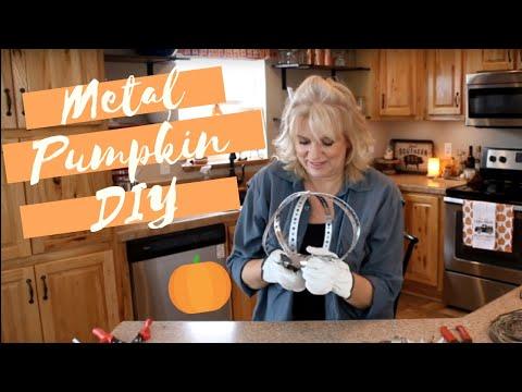 Metal Strapping Pumpkin DIY | LIVE RECORDING