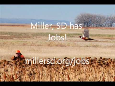 Miller, SD has Jobs Radio Commercial