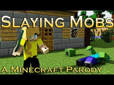 "♪""Slaying Mobs""♪ -A Minecraft Parody Of Imagine Dragon's ""Demons"""