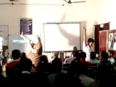 Waiting for Godot - Presented by Dr. Amitava Roy