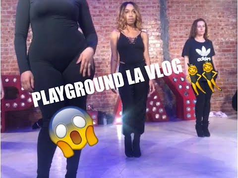 A Day In LA With ME | PLAYGROUND LA Beginner Heel Class| LA VLOG