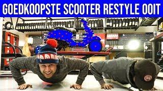 GOEDKOOPSTE SCOOTER RESTYLE OOIT!!! | VOL GAS MET JOEY