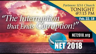 "5. Net 2018 - ""The Interruption that Ends Corruption!"""