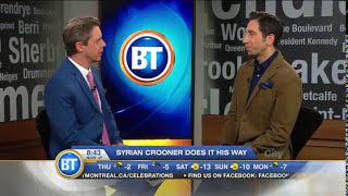 Matt Mardini Crooner - Singer @ Breakfast Television