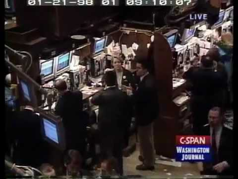 New York Stock Exchange: Building, Companies, Dow Jones, Market, Tour (1998)