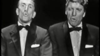 Kirk Douglas and Burt Lancaster at the 1958 & 1959 Oscars