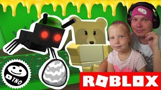 WHAT'S YOUR RECORD WITH THE ANTS? -Bee Swarm Simulator   Roblox   Daddy and Barunka CZ/SK