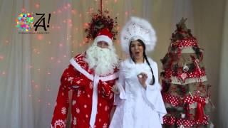 Музыкальный Дед Мороз и Снегурочка