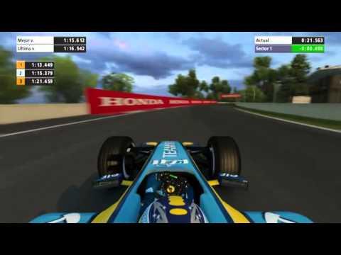 F1 2006| FERNANDO ALONSO ONBOARD CANADA