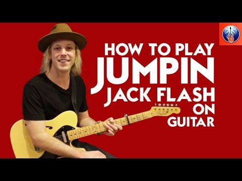 How to Play Jumpin Jack Flash on Guitar - Killer Rolling Stones Lesson