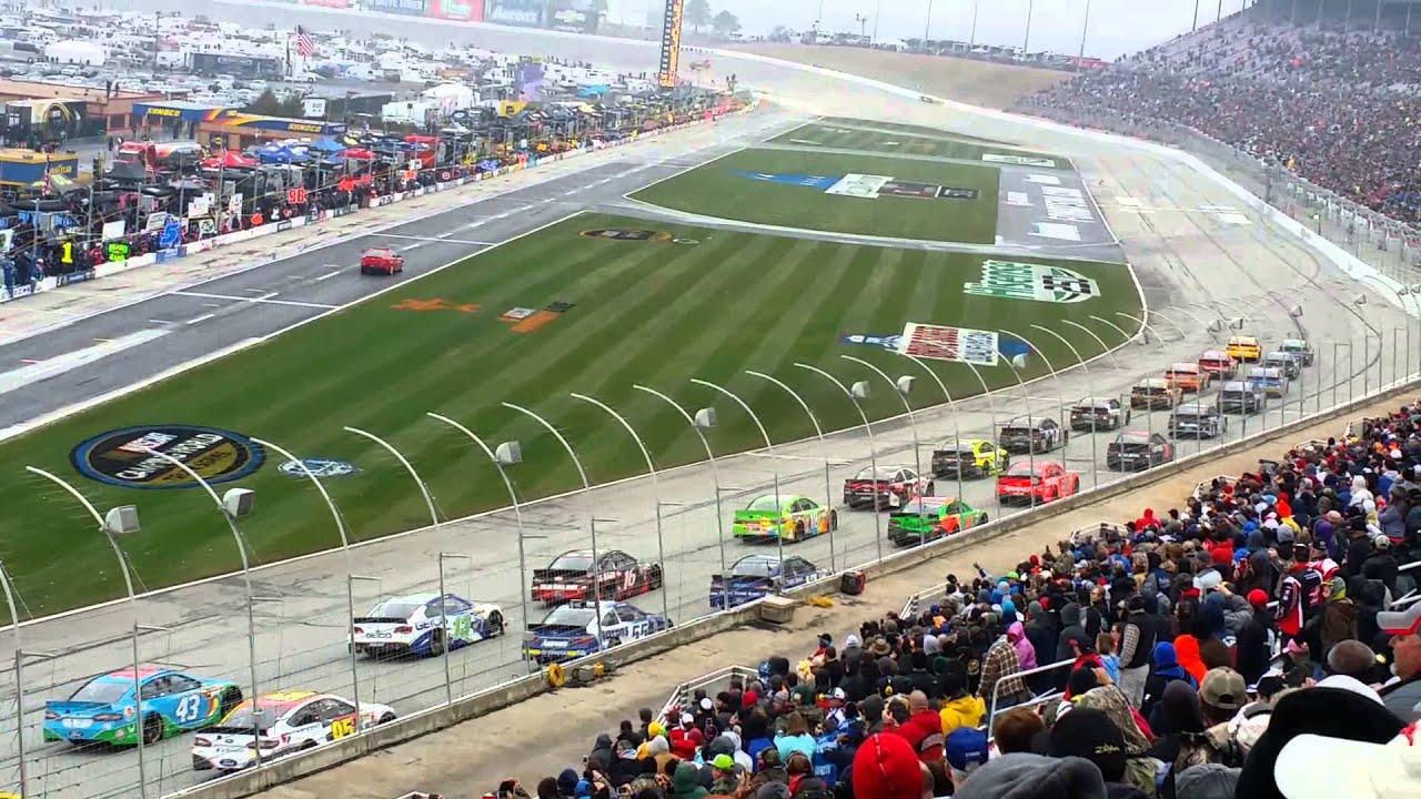 Atlanta Motor Speedway 3 1 15 Youtube