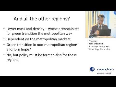 Professor Hans Westlund (KTH Royal Institute of Technology, Stockholm)