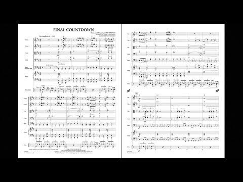 Final Countdown by Joey Tempest/arr. Paul Lavender & Robert Longfield